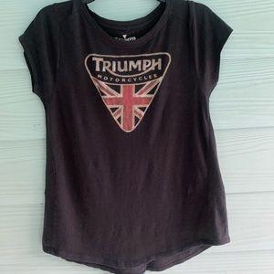Lucky Brand Triumph Tee. EUC